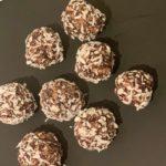 Sjokoladekuler med havregryn